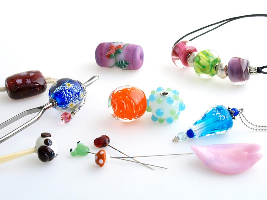 浅草橋校のガラス工芸教室に土曜日の教室がスタート