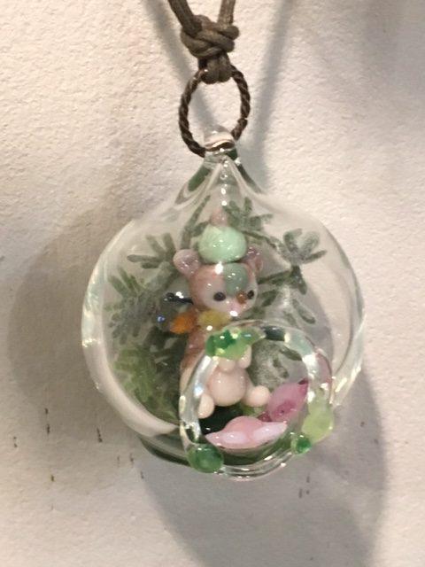 きなりがらす横浜店ガラス作品(メルモッチ3)