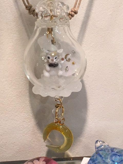 きなりがらす横浜店ガラス作品(メルモッチ4)