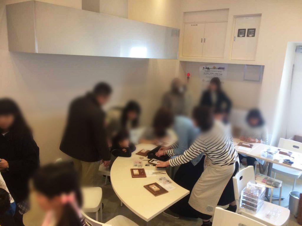きなりがらす名古屋店  ゴールデンウィーク2017 ミルフィオリ体験